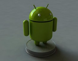 Android Model 3D Model