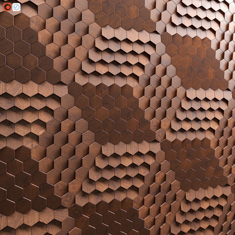 Hexagonal tile by Giles Miller