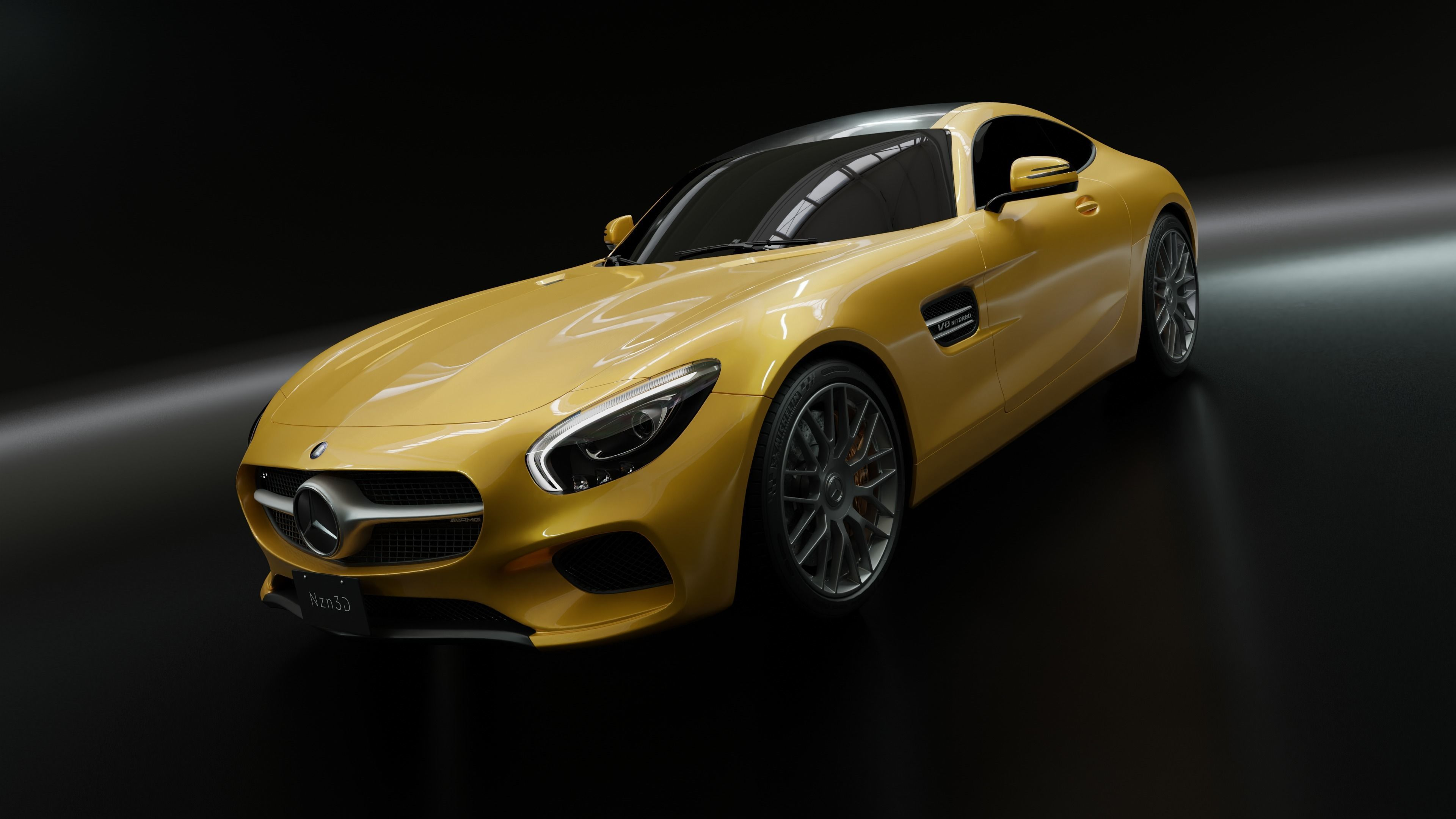 Mercedes AMG GT S 2016 3Dmodel