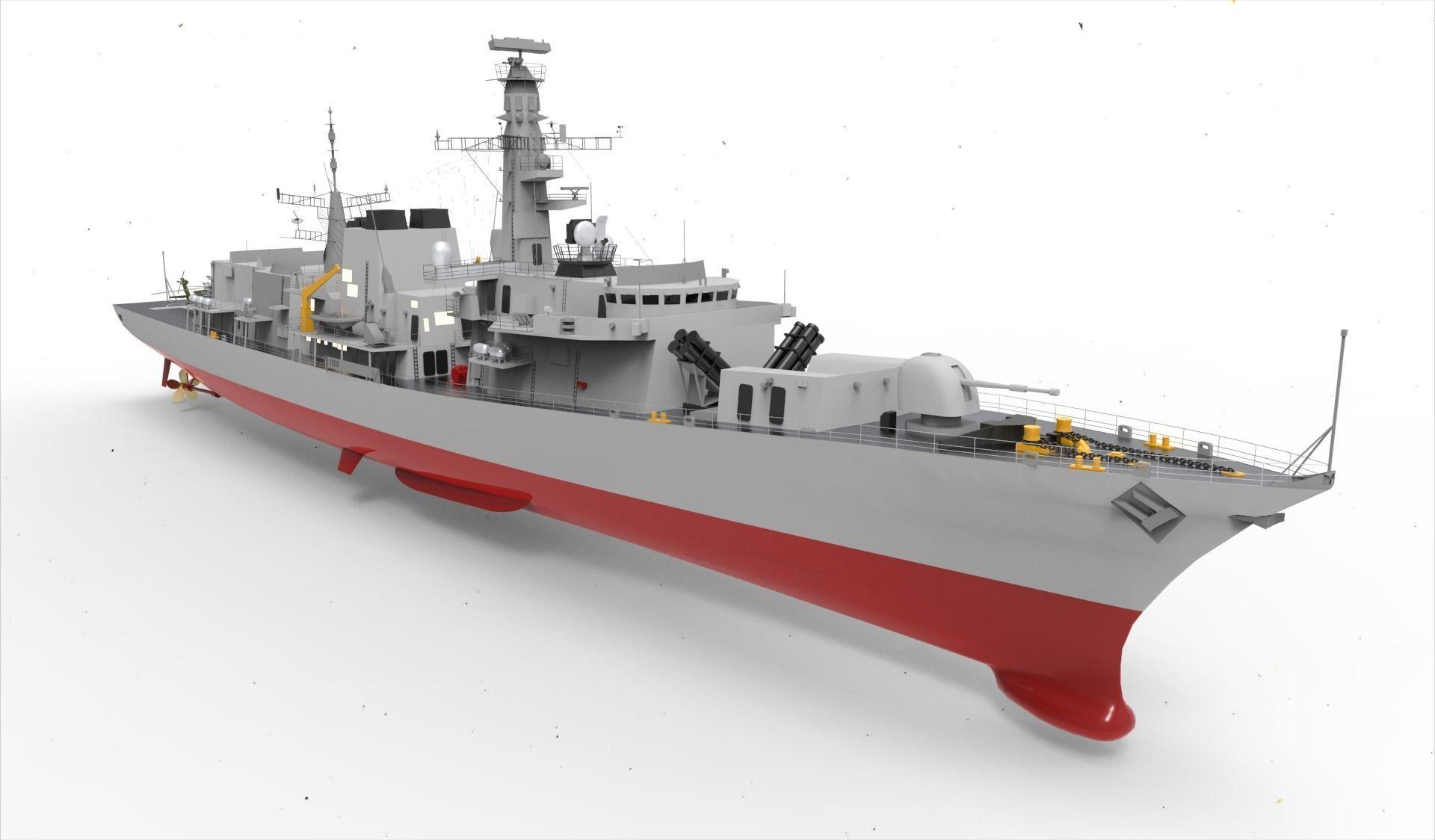 Frigate Type 23 Anti Submarine