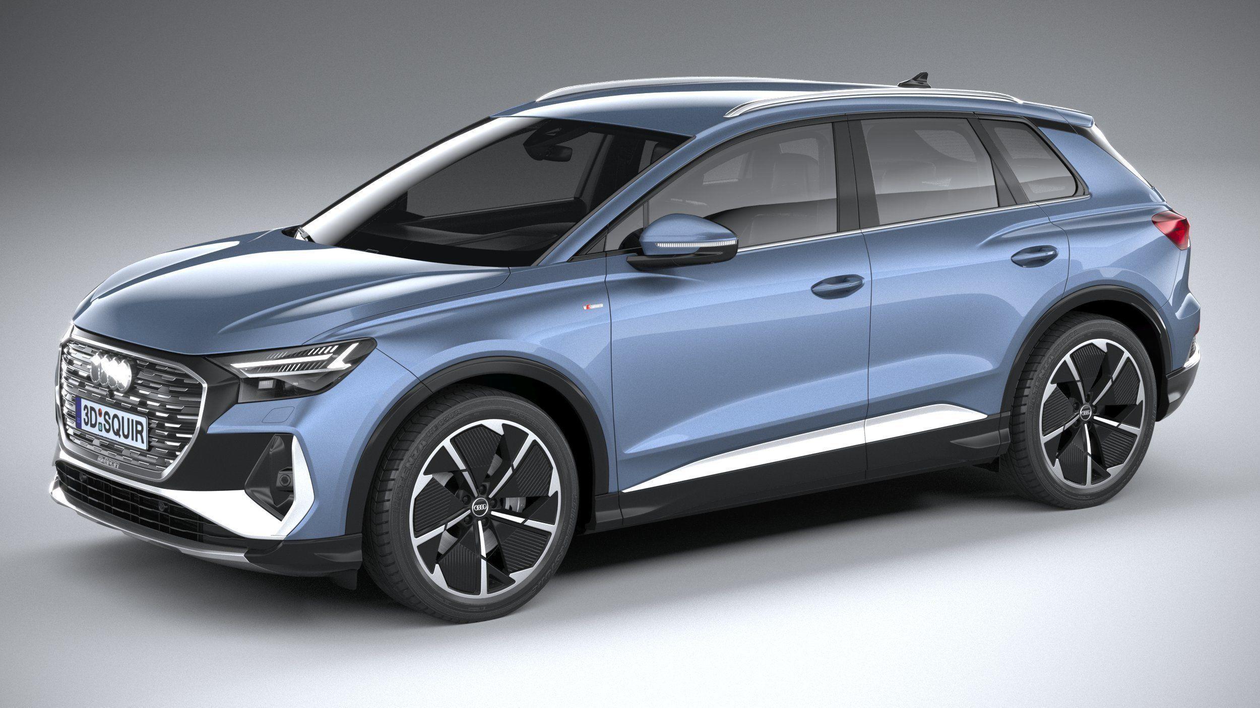 Audi Q4 e-tron s-line 2022
