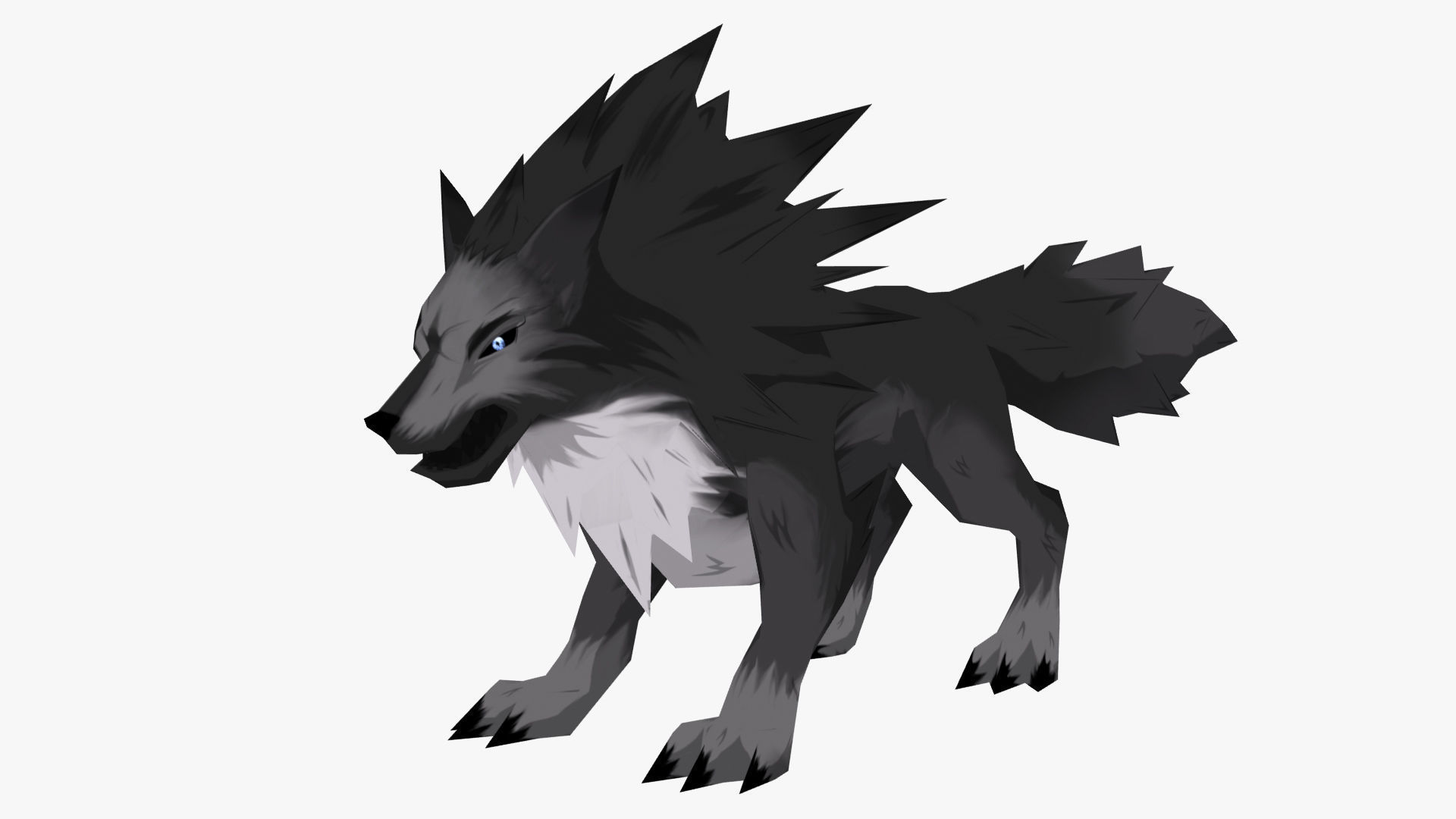 Anime Wolf