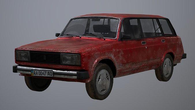Vaz-2104 station wagon