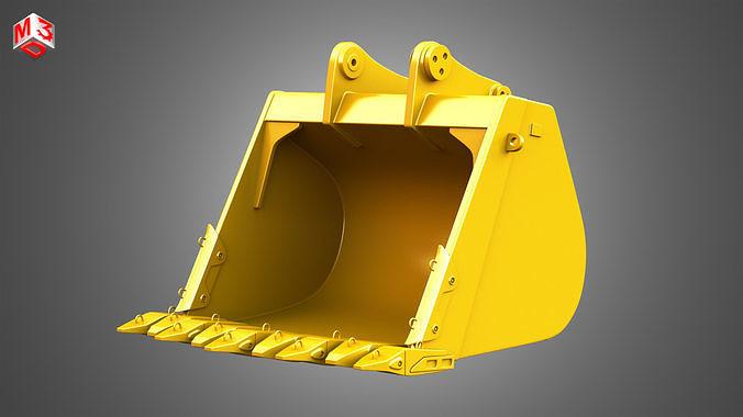 Excavator Bucket - 6015B Hydraulic Mining Shovel