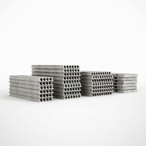 industrial concrete plates 3d model obj 1