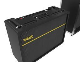 Amplifier Speakers 3D asset