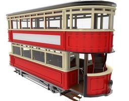 Victorian Tram 3D Model