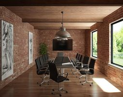 Meeting Room 01 3D
