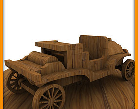 Wooden Toy Couple 3D printable model