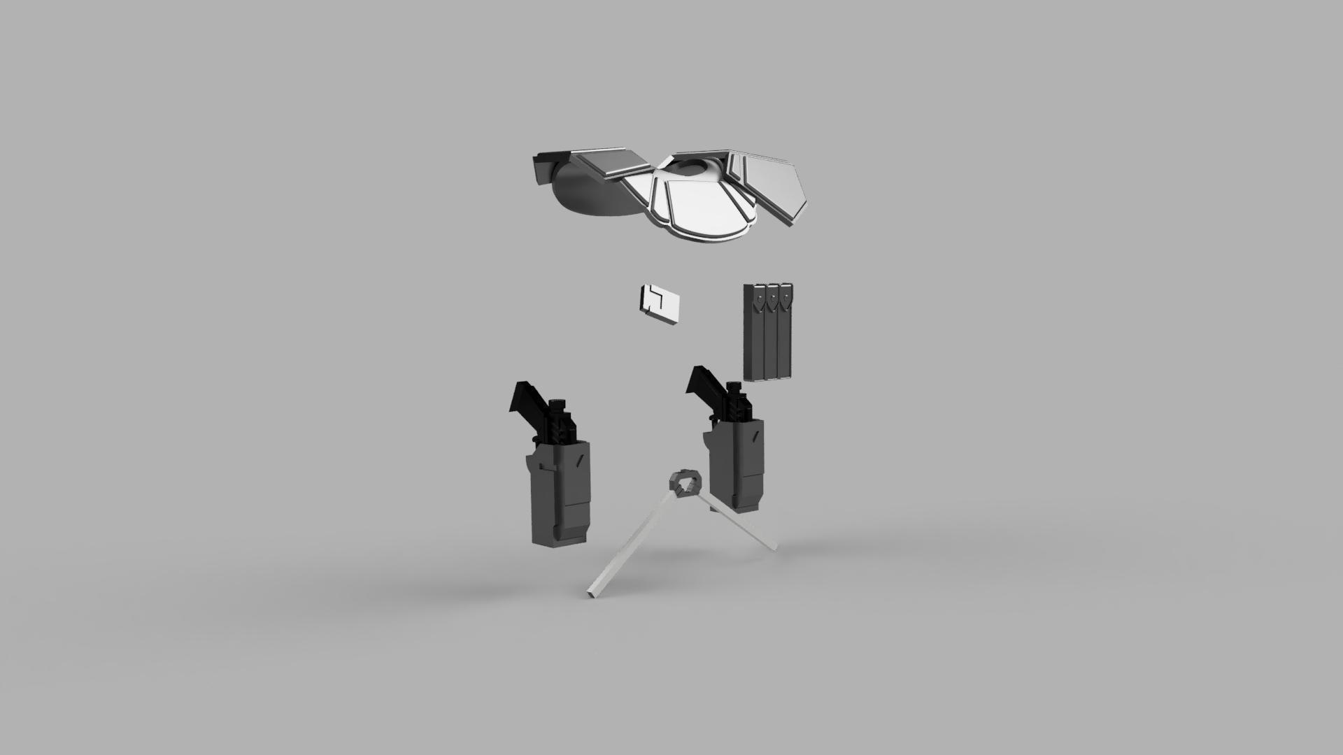 1 12 Clone Commander Kit 6 Models