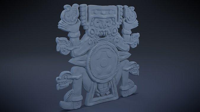 Tlaltecuhtli - Aztec Deity