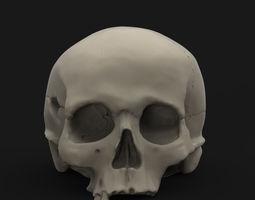 Skull 3 3D printable model