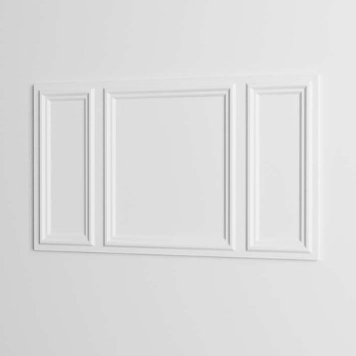 crown molding picture frame 3d model