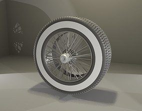 3D model Old School Tire