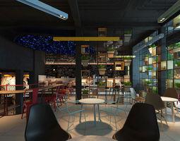 VC Restaurant Cafe Shop 3D