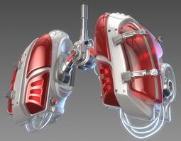 Mechanical lungs concept 3D