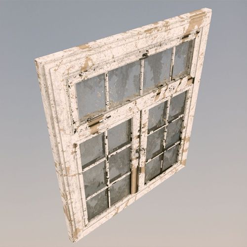 3d model old dirty window cgtrader for Window 3d model