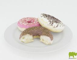 Donut 3D Model