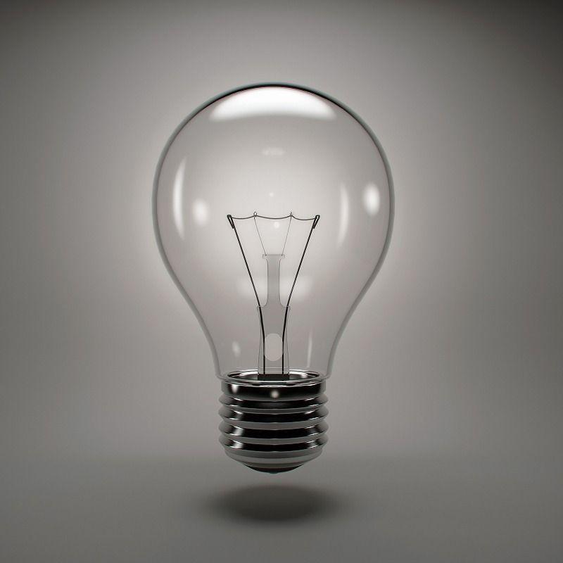 Incandescent light bulb | 3D model