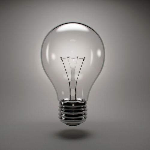 Incandescent Light Bulb 3d Model Cgtrader