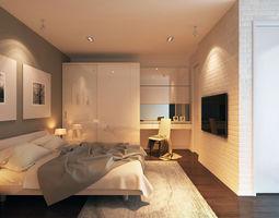 HB Bedroom 3D model