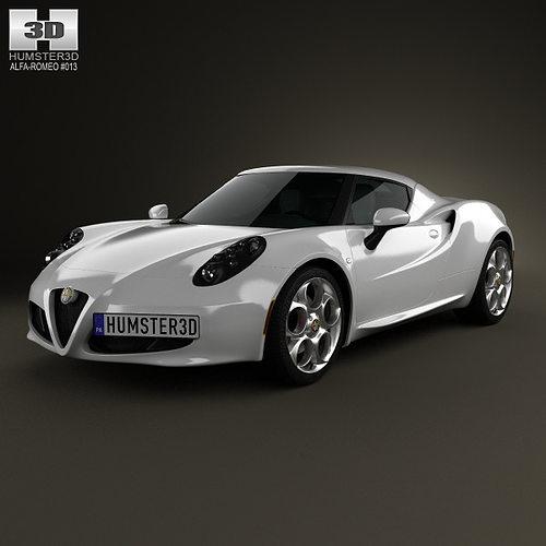 Alfa Romeo 4C 2014 3D