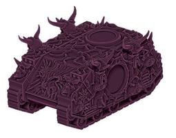 Demon Possessed Custom Tank 3D printable model