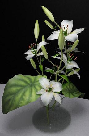 flowers 3d model max 3ds fbx 1