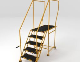 3d step ladder