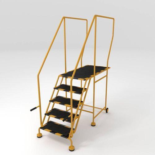 step ladder 3d model obj fbx blend mtl 1