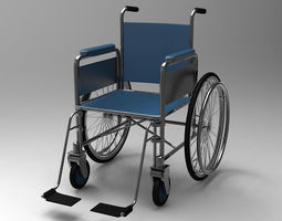 Wheel Chair 3D medical-device