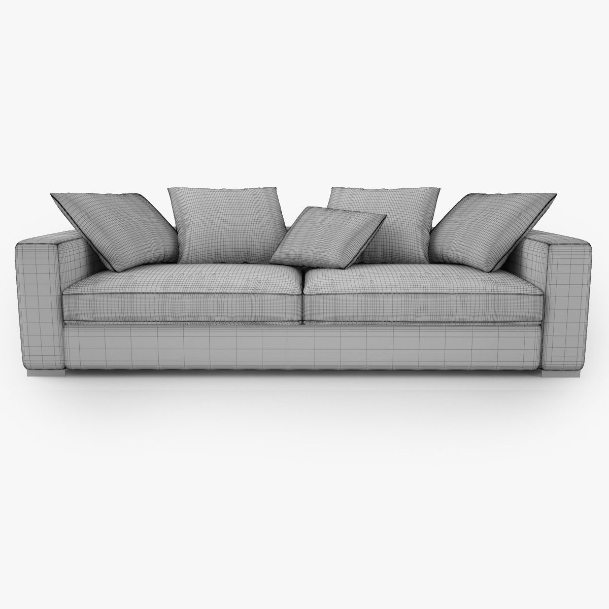 boconcept cenova ge52 sofa 3d model max obj fbx mtl mat. Black Bedroom Furniture Sets. Home Design Ideas