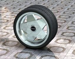 3D print model Borbet Wheel