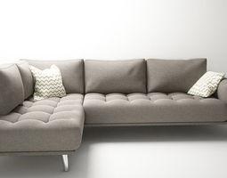 3d printable model modern Sofa