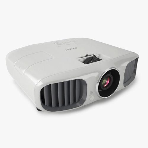 epson projector 3d model max obj fbx mtl 1