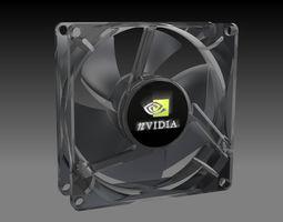 cooling fan 3d print model