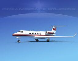 Grumman Gulfstream G-V V02 3D