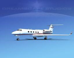 Grumman Gulfstream G-V V06 3D