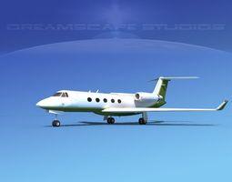 3D model Grumman Gulfstream G-V V13