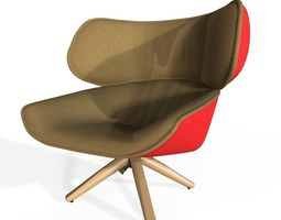 Tabano Chair 3D asset