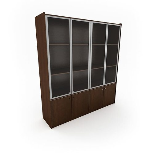 wood office cabinet 3d model