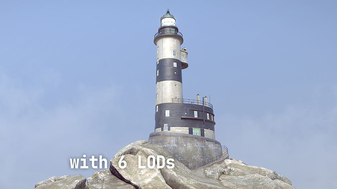 Lighthouse Aniva WithLods