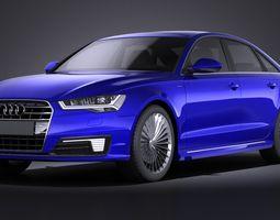 Audi A6L e-tron 2017 VRAY 3D Model
