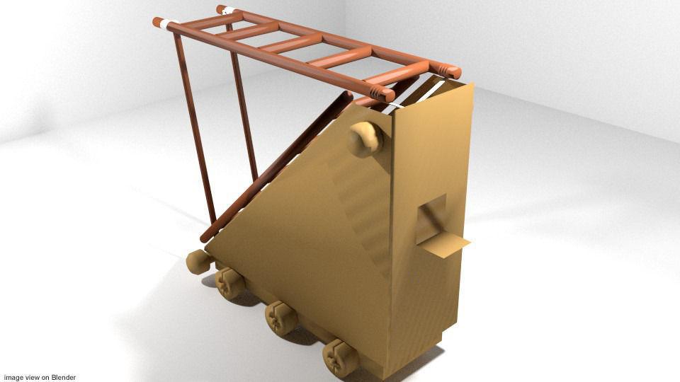 Medieval War Machine - Siege Ladder