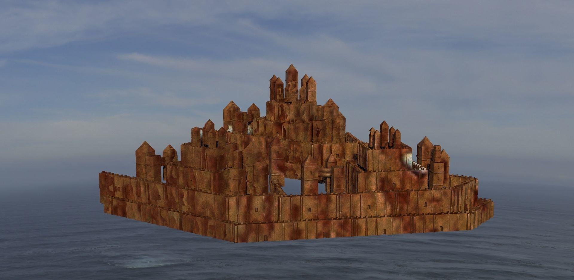 Castle model Toy