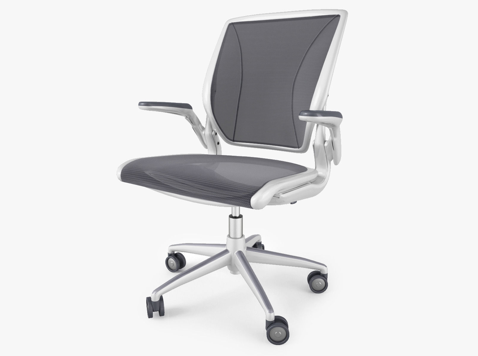 Humanscale Diffrient World Office Chair Model Max Obj Fbx Mtl 1