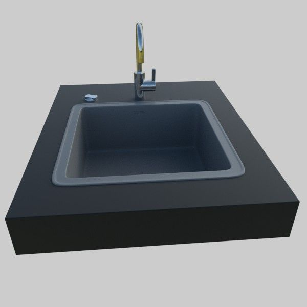 Kitchen Sink Models With Price : comments 0 kitchen sink 3d model high poly kitchen sink 3d model ...