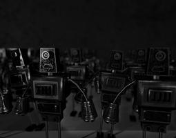 3D model game-ready Robot