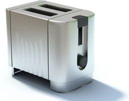 Chrome Toaster 3D