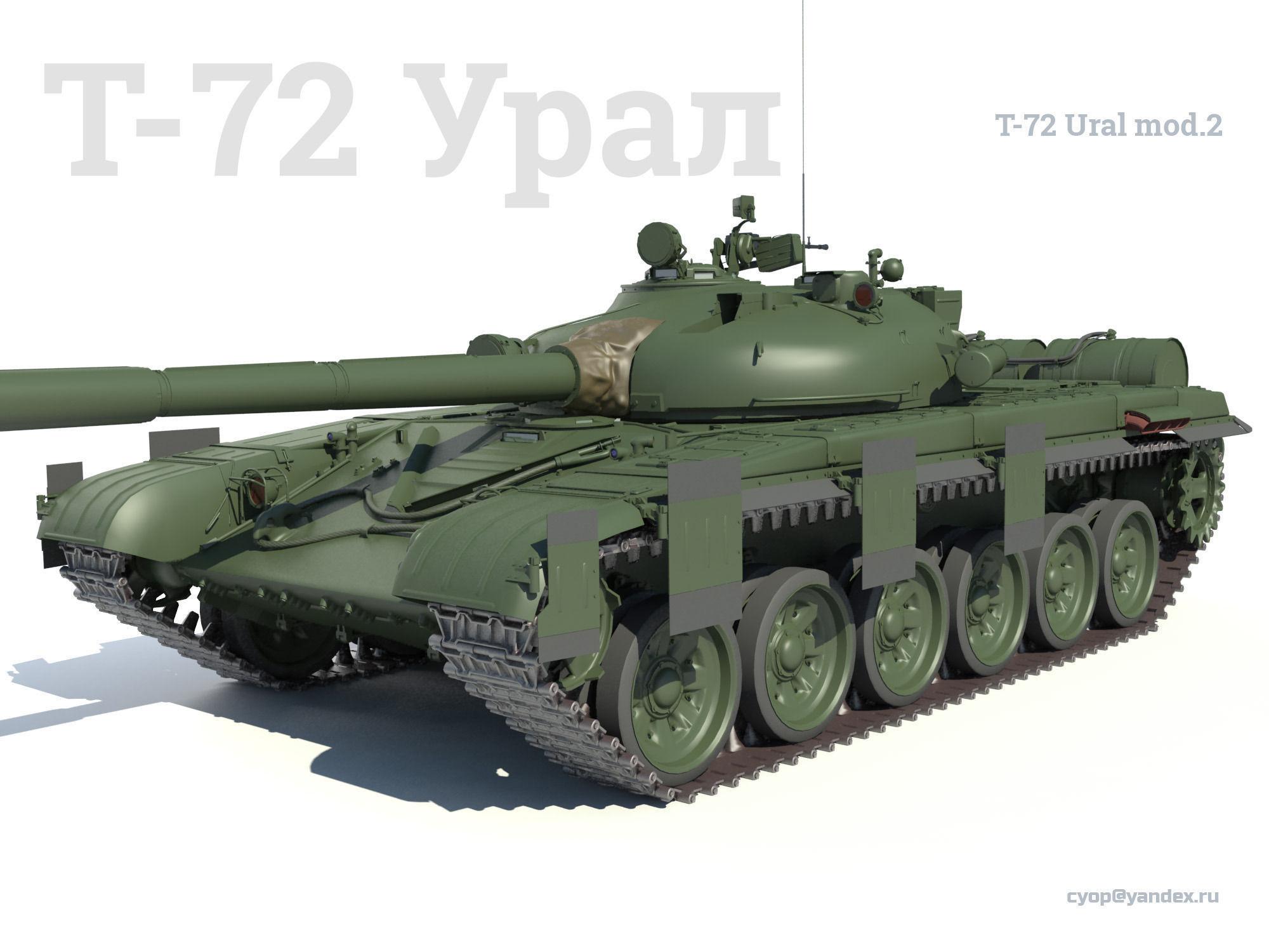 фото т-72 урал